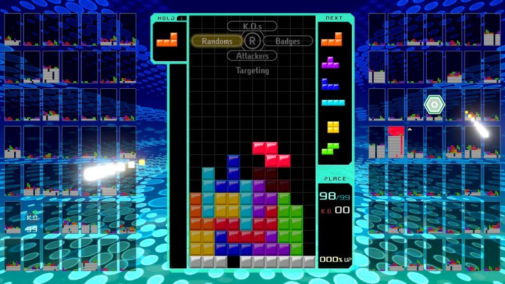 Tetris 99 banner scheda
