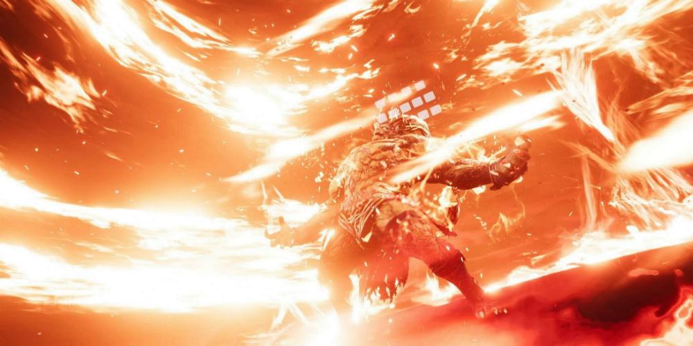 Final Fantasy VII Remake Ifrit banner