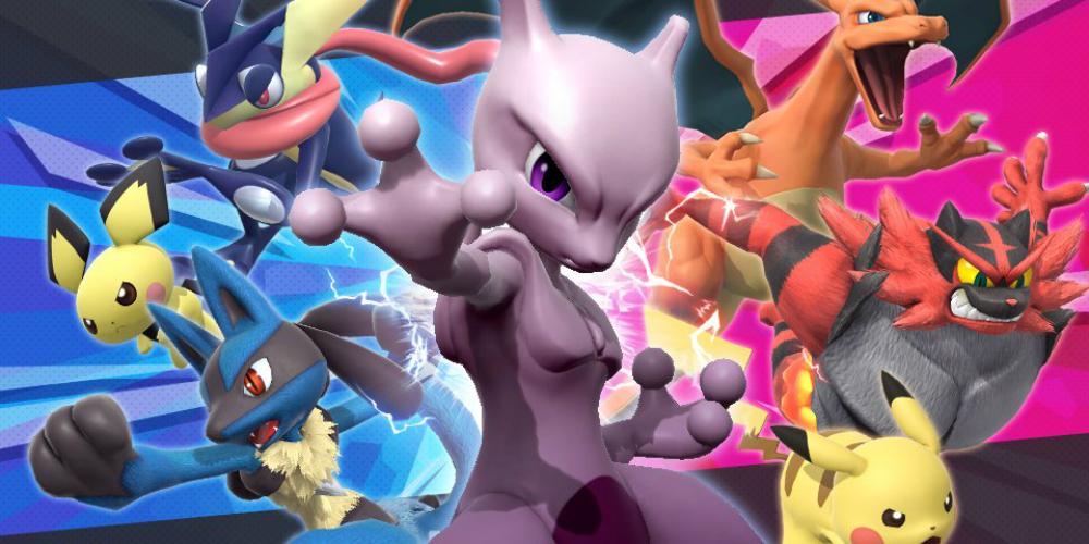 Super Smash Bros. Ultimate Pokémon banner