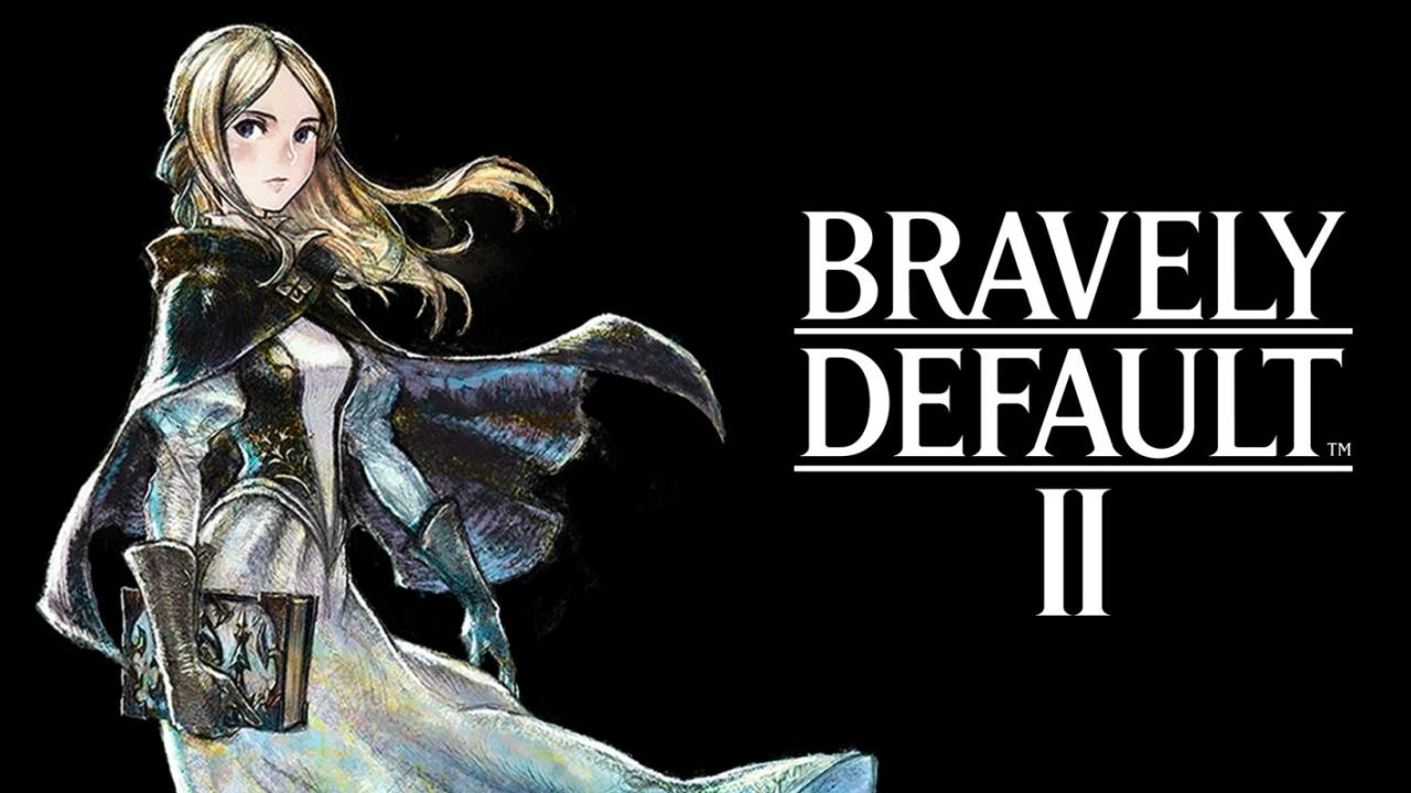 Bravely Default II banner scheda