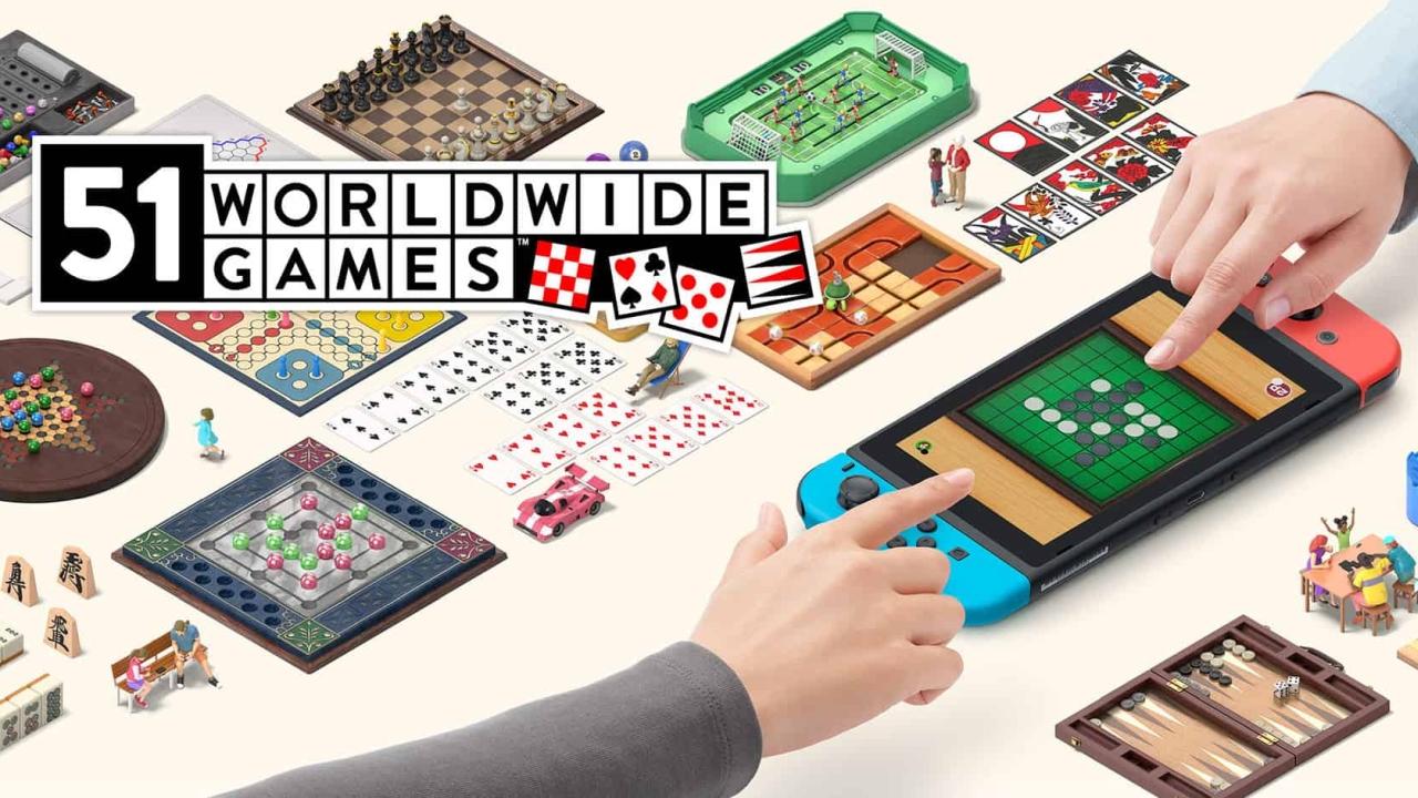 51 Worldwide Games banner scheda