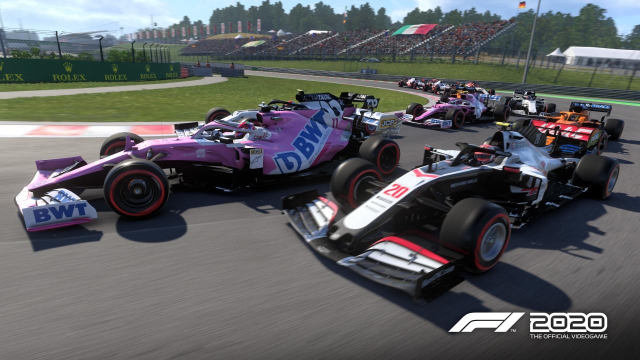 F1 2020 banner scheda