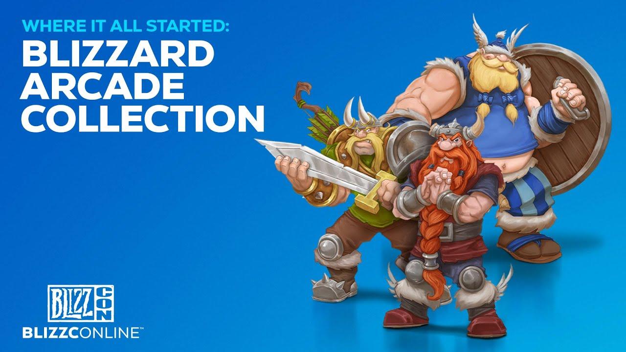 Blizzard Arcade Collection banner scheda