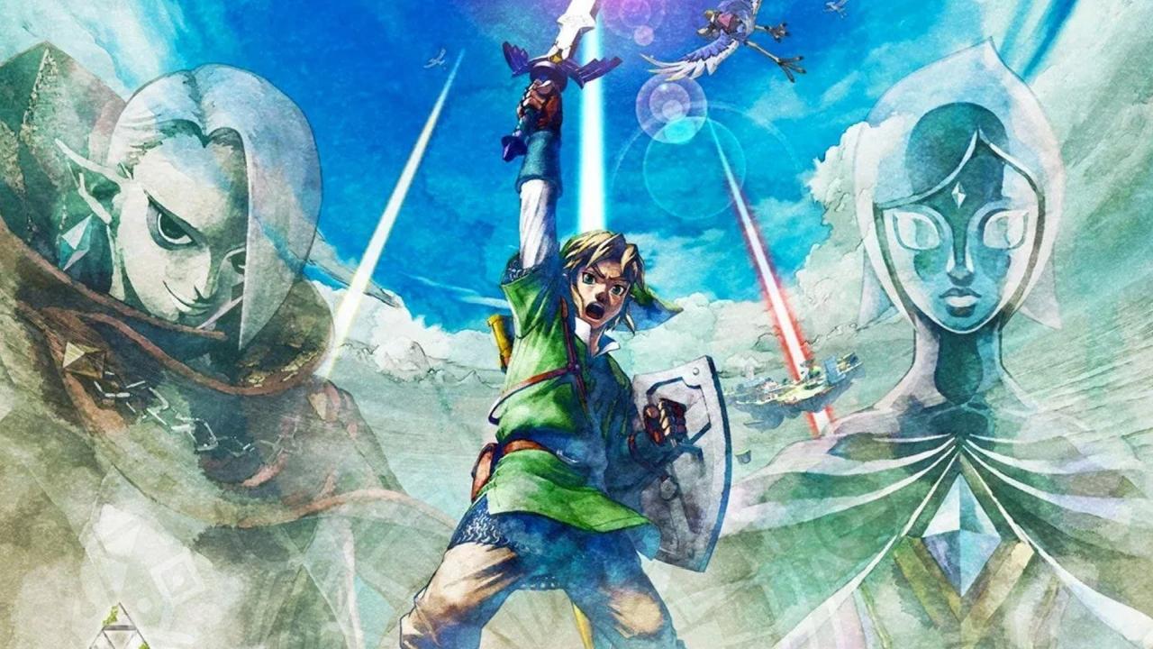 The Legend of Zelda Skyward Sword HD banner scheda