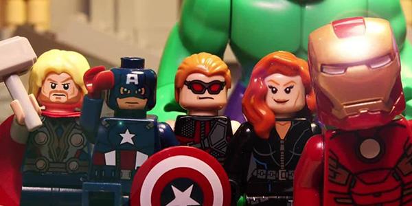 avengers lego banner