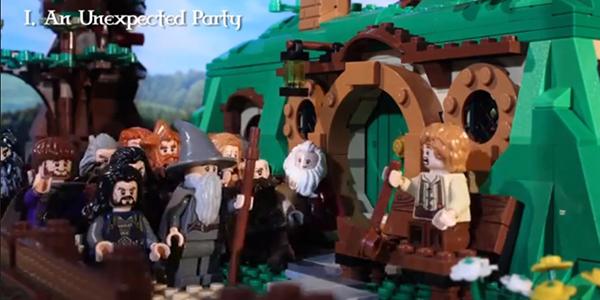 hobbit lego banner