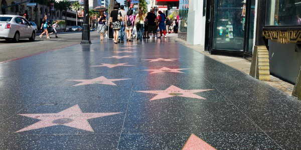 Hollywood Walk of Fame Los Angeles