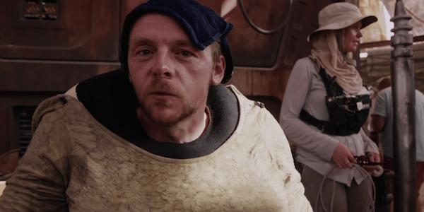 Simon Pegg Star Wars