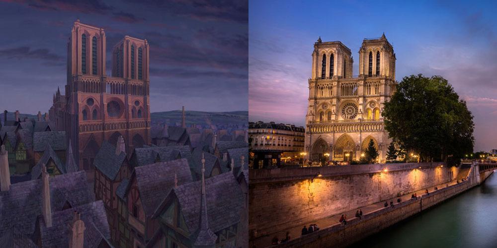 Il gobbo di notre dame cattedrale parigi