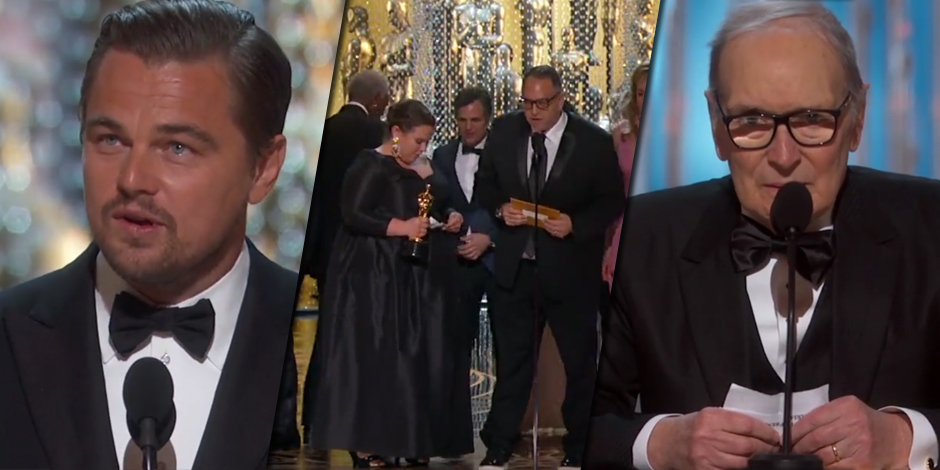 Oscar 2016 vincono spotlight e leonardo dicaprio tutti i for Tutti i premi oscar