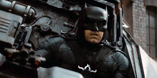 The Batman Justice League Ben Affleck