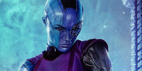 Nebula Guardiani della Galassia Avengers