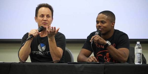 Power Rangers: Walter Jones e David Yost, Zack e Billy ...