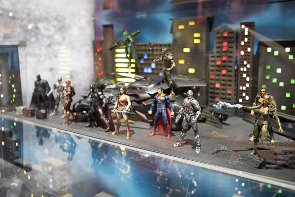 Justice League Mattel - San Diego Comic-Con 2017