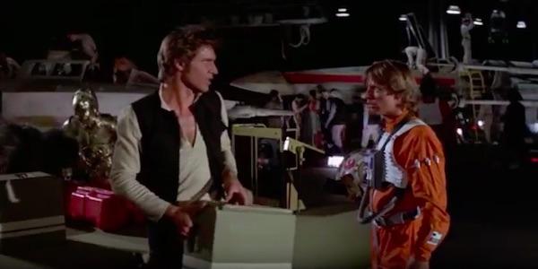 Star Wars Han Solo Luke Skywalker