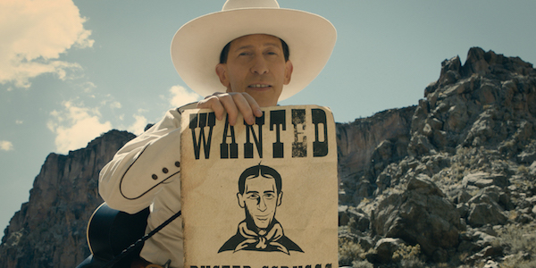 THE BALLAD OF BUSTER SCRUGGS banner