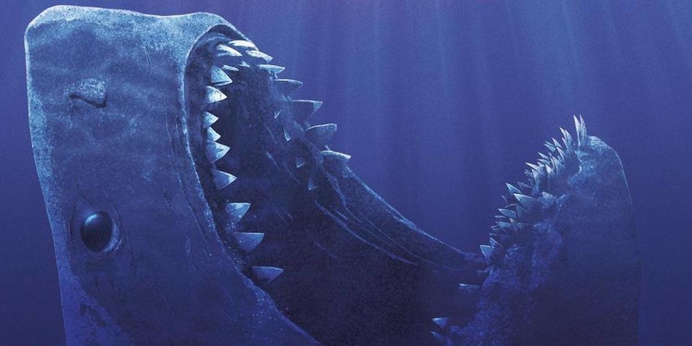 the meg shark banner slide