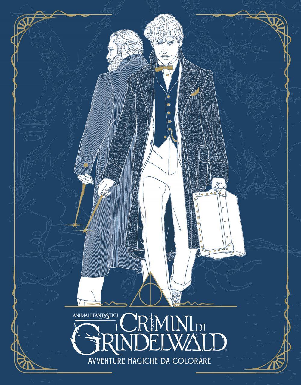Animali Fantastici I Crimini Di Grindelwald Ecco I Volumi Che