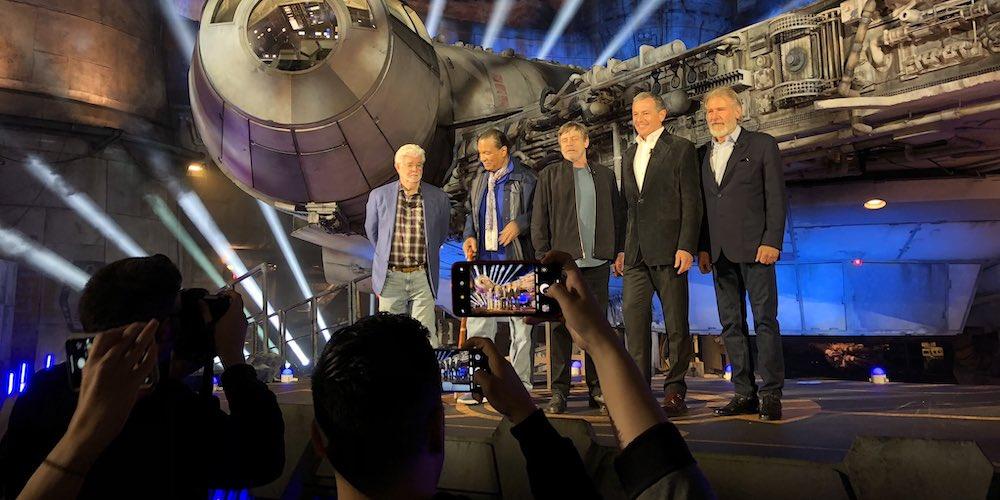 star wars galaxys edge inaugurazione