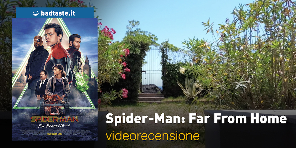 spider-man far from home slide