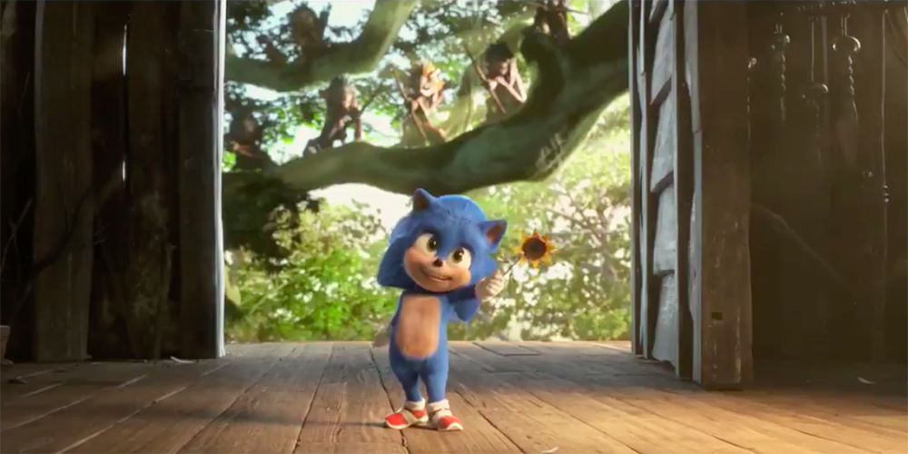 Baby Sonic il film clip