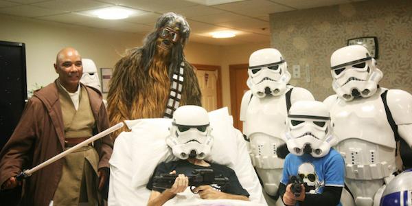 star wars paziente