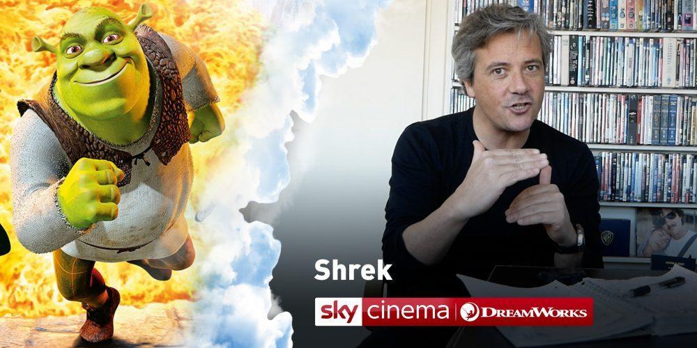 shrek speciale sky cinema dreamworks
