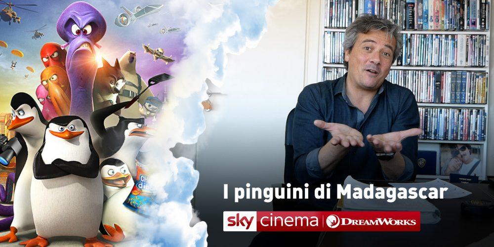 sky cinema dreamworks i pinguini di madagascar speciale
