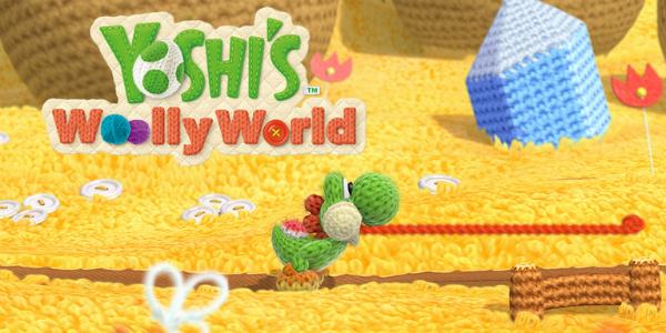 Yoshi's Woolly World banner
