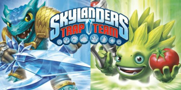 Skylanders Trap Team banner