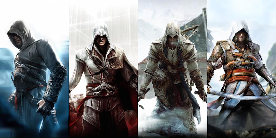 Assassin's Creed protagonisti