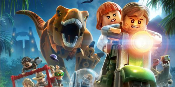 LEGO Jurassic World banner