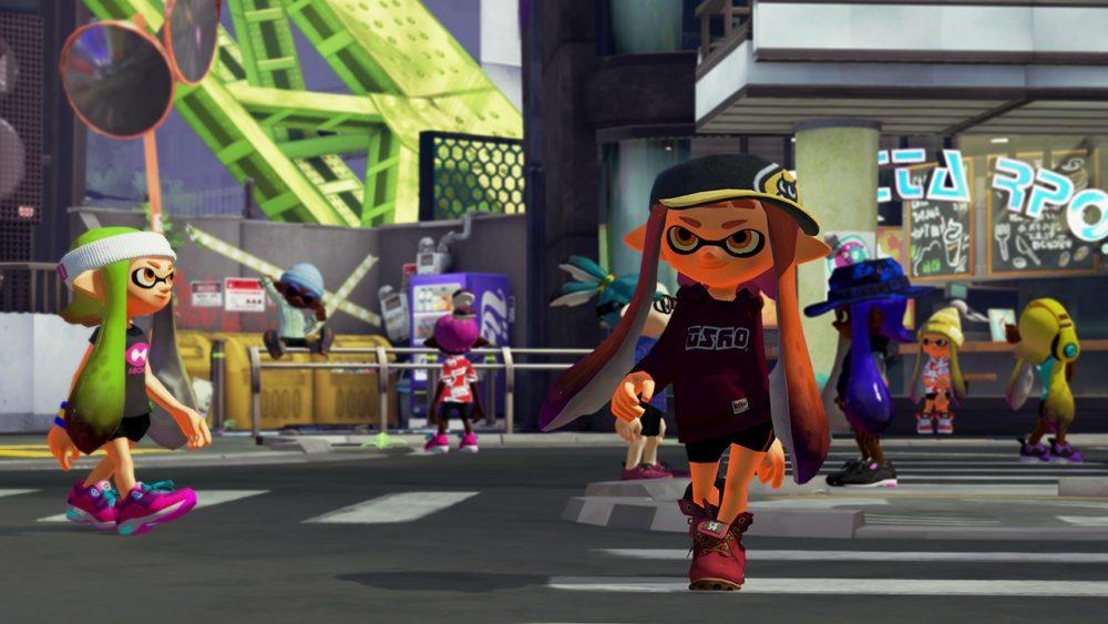 Splatoon screenshot 3