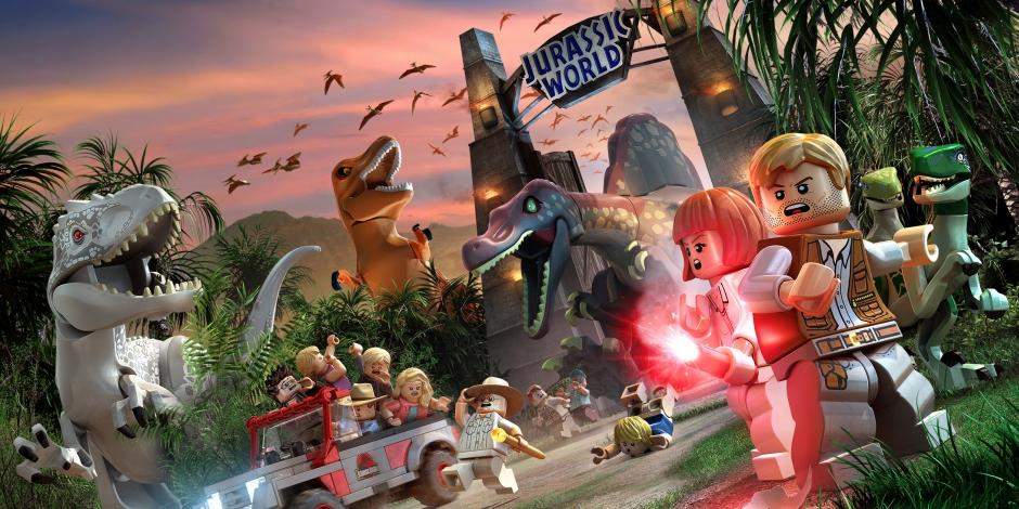 Lego Jurassic World megaslide
