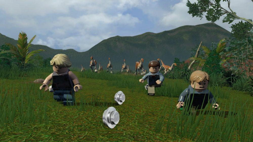 Lego Jurassic World screenshot 1
