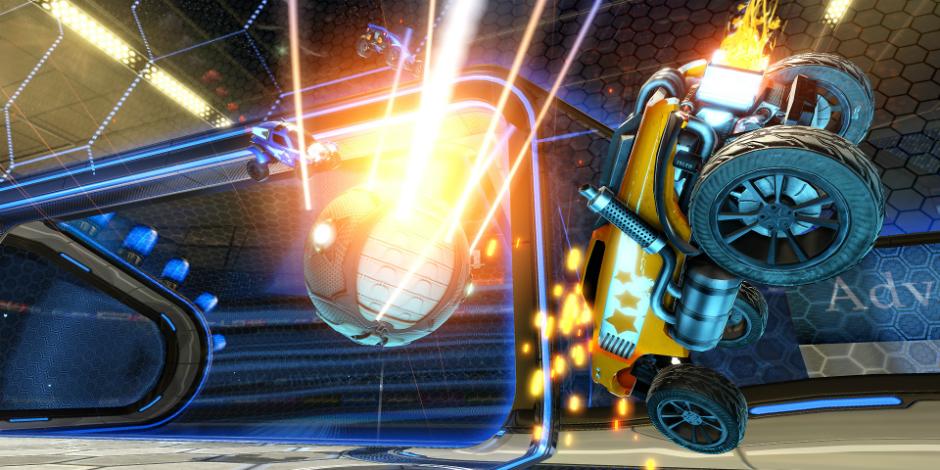 Rocket League megaslide