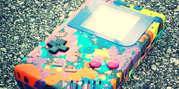 Game Boy Color Splatoon banner