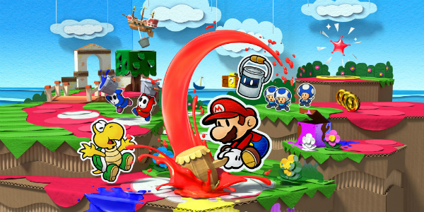 Paper Mario: Color Splash banner