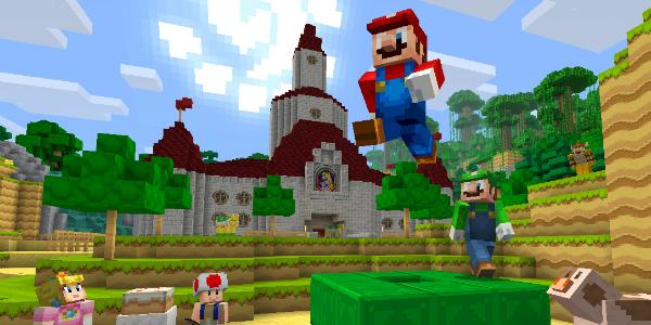 Minecraft: Wii U Edition banner scheda