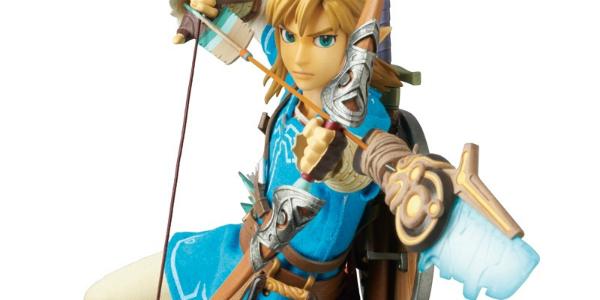 The Legend of Zelda: Breath of the Wild Link MediCom banner
