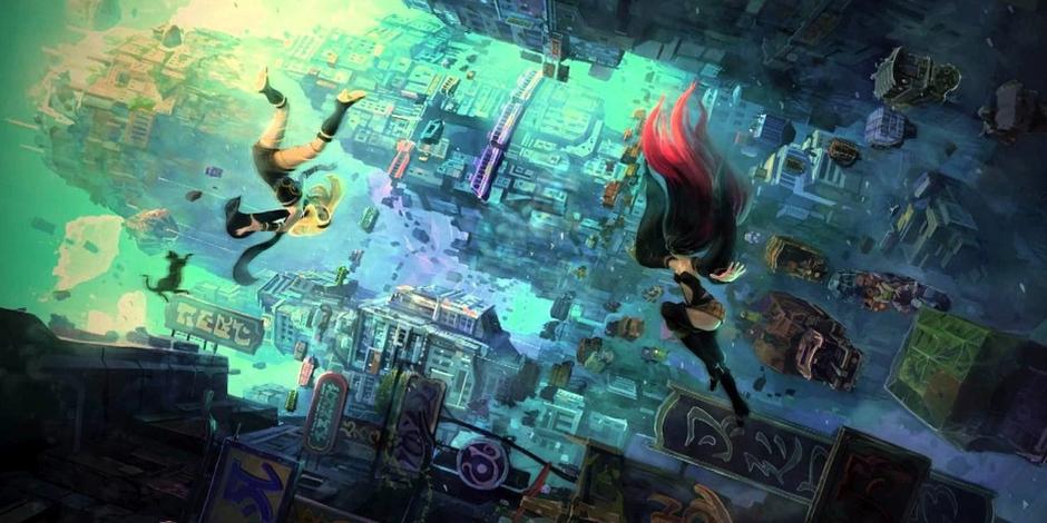 Gravity Rush 2 megaslide