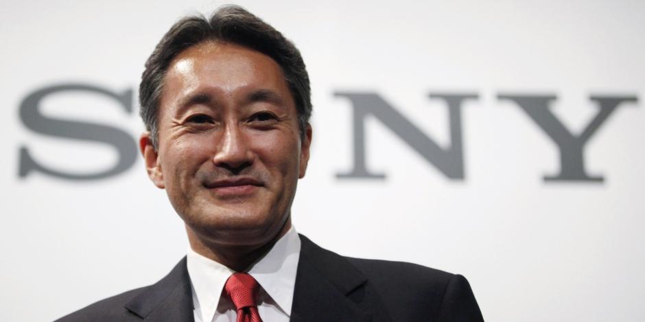 Kazuo Hirai megaslide