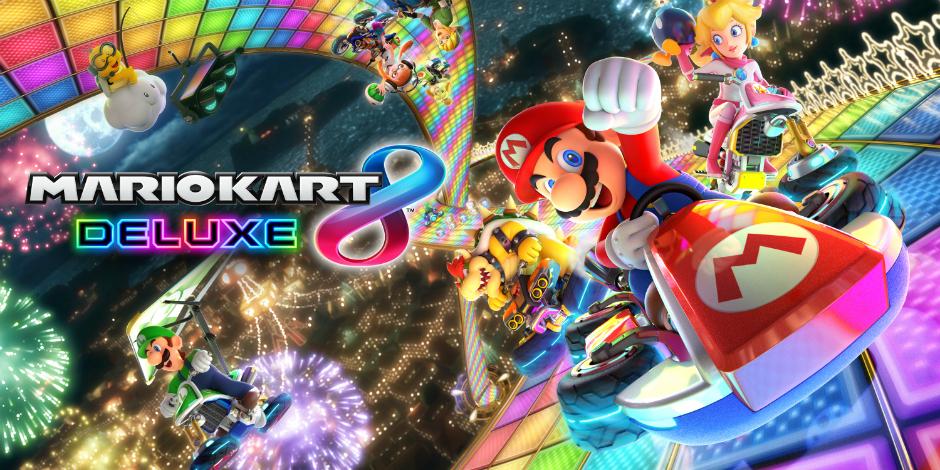 Mario Kart 8 Deluxe megaslide