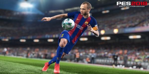 Pro Evolution Soccer 2018 banner