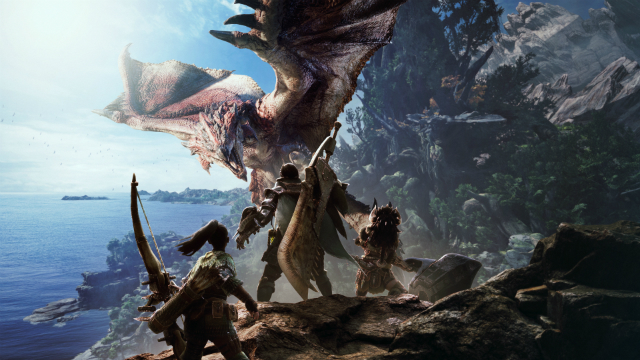 Monster Hunter: World banner