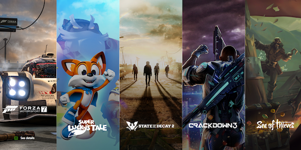 Xbox One banner giochi
