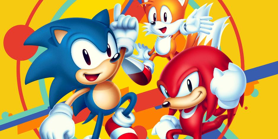 Sonic Mania megaslide