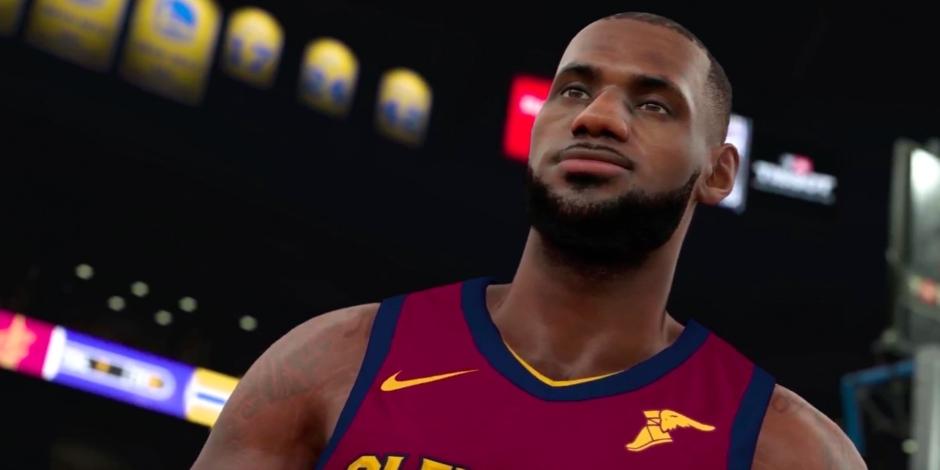 NBA 2K18 megaslide