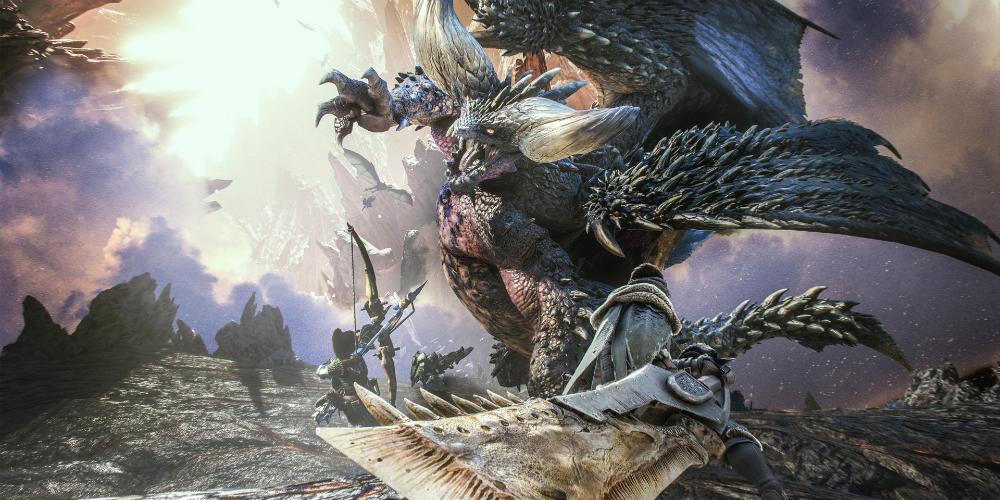 Monster Hunter: World megaslide