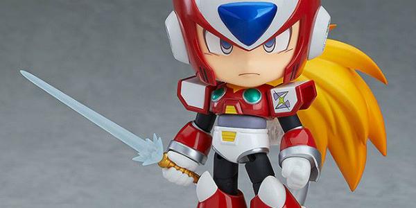 Zero Mega Man X Nendoroid Good Smile Company banner